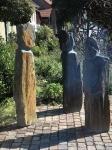 Skulpturen Schiefer Pyrenäen